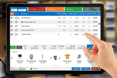iPad POS System Stokes Bridge